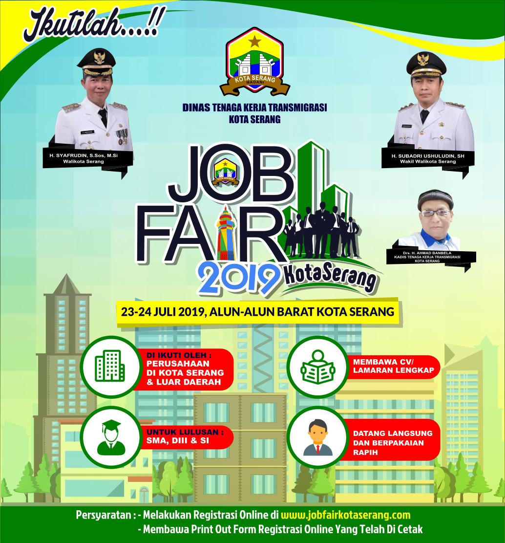Ajang pencari kerja untuk masyarakat kota serang